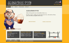 Web Site Development - Albatros Pub