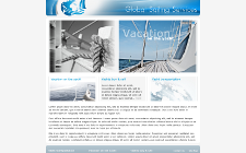 WebSite Design Sample - Global Sailing Services