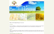 Web Site Design - The Hope Tree Initiative