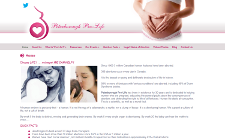 Web Site Development - Peterborough Pro-Life